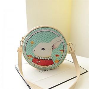 -fashion-Women-print-cross-body-Handbag-desigual-Cartoon-Rabbit-Bags-Small-Circle-Bag-Cute-Messenger