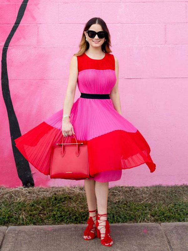 Лято в червено и розово